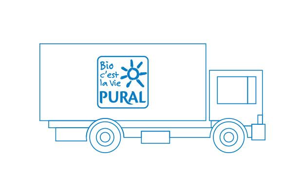 Seit 1996 beliefert die Tochterfirma Pural Naturkost GmbH mit der Eigenmarke PURAL Naturkostfachgeschäfte in ganz Deutschland. Der Name ist Programm: Pural leitet sich aus den französischen Wörtern pur = rein/natürlich und aliment = Lebensmittel ab.